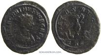 Ancient Coins - CARINUS . (AD 283-285 ) Antoninianus, 3.10g.  Rome. Pontifical implements