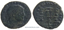 Ancient Coins - CONSTANTINE I, The Great . (AD 306-337) Follis, 4.30g.  Rome.