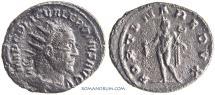 Ancient Coins - VALERIAN. (AD 253-260) Antoninianus, 3.74g.  Antioch.
