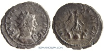 Ancient Coins - GALLIENUS. (AD 253-268) Antoninianus, 3.92g.  Cologne. VICT GERMANICA