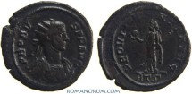 Ancient Coins - PROBUS. (AD 276-282) Antoninianus, 3.24g.  Rome PROVIDENTIA AVG. From the AEQVITI series of Rome (T)