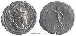 Ancient Coins - POSTUMUS. (AD 260-268) Antoninianus, 3.10g.  Lugdunum. PAX AVG