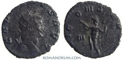Ancient Coins - GALLIENUS. (AD 253-268) Antoninianus, 2.71g.  Rome. IOVI CONSERVAT