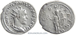 Ancient Coins - PHILIP I, The Arab. (AD 244-249) Antoninianus, 3.87g.  Rome. Scarce