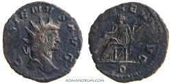 Ancient Coins - GALLIENUS. (AD 253-268 ) Antoninianus, 2.88g.  Rome. INDVLGENT AVG. Not common.