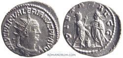 Ancient Coins - VALERIAN. (AD 253-260) Antoninianus, 3.68g.  Samosata.