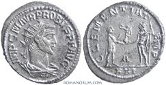 Ancient Coins - PROBUS. (AD 276-282) Antoninianus, 4.17g.  Antioch.