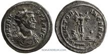 Ancient Coins - PROBUS. (AD 276-282) Antoninianus, 5.42g.  Rome. Celebrating Probus's victories against the Germanic tribes.