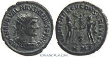 Ancient Coins - MAXIMIANUS. (AD 286-305) Antoninianus, 3.84g.  Antioch.