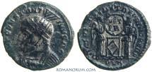 Ancient Coins - CONSTANTINE I, The Great. (AD 306-337) AE3, 2.53g.  London. VICTORIAE LAETAE