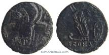 Ancient Coins - CONSTANTINE DYNASTY. AE4, 1.33g.  Arles. Scarce