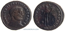 Ancient Coins - CONSTANTIUS I CHLORUS. (AD 293-306) Follis, 9.78g.  Antioch. GENIO POPVLI