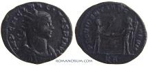 Ancient Coins - TACITUS. (AD 275-276) Antoninianus, 3.04g.  Tripolis. Rare. Not in RIC. Featured in wildwinds.com