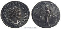 Ancient Coins - CARINUS . (AD 283-285 ) Antoninianus, 3.12g.  Lugdunum. AEQVITAS AVGG