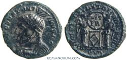 Ancient Coins - CONSTANTINE I, The Great. (AD 306-337) AE3, 2.53g.  London. VICTORIAE LAETAE