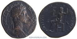 Ancient Coins - COMMODUS. (AD 180-192 ) Sestertius, 26.50g.  Rome.