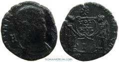 Ancient Coins - MAGNENTIUS. (AD 350-353) AE Centenionalis, 3.50g.  Arles. Very scarce.