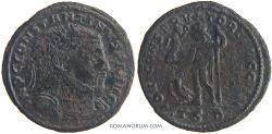 Ancient Coins - CONSTANTINE I, The Great. (AD 306-337) Follis, 3.29g.  Thessalonica.