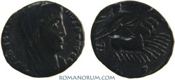 Ancient Coins - CONSTANTINE I, The Great . (AD 306-337) AE 4, 1.06g.  Constantinopla. Deep, dark patina.