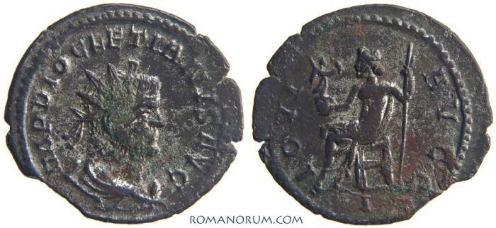 Ancient Coins - DIOCLETIAN. (AD 284-305) Antoninianus, 2.59g.  Lyon. IOVI AVGG Ric Var.