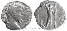 Ancient Coins - SEPTIMIUS SEVERUS. (AD 193-211) Denarius, 2.73g.  Rome. Panther.