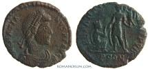 Ancient Coins - GRATIAN. (AD 375 -383) AE2, 4.91g.  Arles. REPARATIO REIPVB