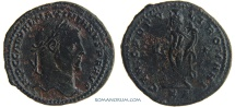 Ancient Coins - GALERIUS. (AD 293-311) Follis, 7.93g.  Cyzicus. Scarcer for this mint.