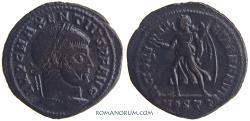 Ancient Coins - MAXENTIUS. (AD 306-312 ) Follis, 6.76g.  Ostia.