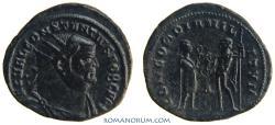Ancient Coins - CONSTANTIUS I CHLORUS. (293-306 A.D.) Follis, 3.37g.  [Alexandria] CONCORDIA MILITVM. Excellent portrait.
