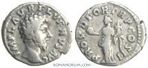 Ancient Coins - LUCIUS VERUS. (AD 161-169) Denarius, 3.17g.  Rome. PROV DEOR