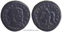 Ancient Coins - DIVO CLAVDIO Commemorative issue by Constantine I. (AD 268-270) Half nummus, 1.49g.  Rome.