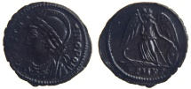 Ancient Coins - CONSTANTINE DYNASTY. AE 3, 1.85g.  Cyzicus. Actually rare.