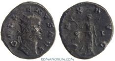 Ancient Coins - GALLIENUS. (AD 253-268) Antoninianus, 3.83g.  Mediolanum. PAX AVG