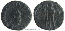 Ancient Coins - HONORIUS. (AD 393-423) AE2, 4.38g.  Antioch. GLORIA ROMANORVM