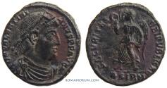 Ancient Coins - VALENTINIAN I. (AD 364-375) AE3, 2.90g.  Sirmium. SECVRITAS REIPVBLICAE