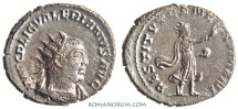 Ancient Coins - VALERIAN. (AD 253-260) Antoninianus, 4.20g.  Antioch. Restorer of the human race. Scarce.