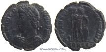 Ancient Coins - PROCOPIUS. (AD 365-366) Centenionalis, 2.99g.  Constantinople. Scarce coin of the usurper.