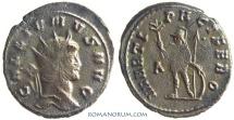 Ancient Coins - GALLIENUS. (AD 253-268 ) Antoninianus, 4.00g.  Rome. MARTI PACIFERO