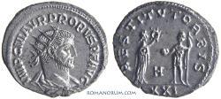Ancient Coins - PROBUS. (AD 276-282) Antoninianus, 3.52g.  Antioch.