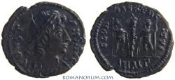 Ancient Coins - CONSTANS. (AD 337-350) AE3, 1.42g.  Alexandria. GLORIA EXERCITVS Quite scarce