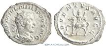 Ancient Coins - PHILIP I, The Arab. (244-249 AD) Antoninianus, 3.96g.  Rome. ADVENTVS AVGG