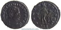 Ancient Coins - LICINIUS. (AD 308-324) Follis, 3.23g.  Trier. GENIO POP Nice portrait, rough center reverse.