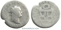 Ancient Coins - TITUS. (AD 79-81) Denarius, 2.38g.  Rome. A scarce coin.