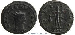 Ancient Coins - GALLIENUS. (AD 253-268 ) Antoninianus, 2.76g.  Rome. Mercury.