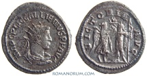 Ancient Coins - GALLIENUS. (AD 253-268) Antoninianus, 3.91g.  Samosata. VICTORIA AVG Not common