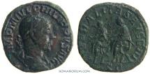 Ancient Coins - PHILIP I, The Arab. (244-249 AD) Sestertius, 19.62g.  Rome