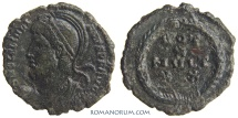 Ancient Coins - JULIAN II, The Apostate. (AD 355-363) Centenionalis, 2.77g.  Uncertain mint. Wonderful portrait