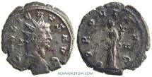 Ancient Coins - GALLIENUS. (AD 253-268) Antoninianus, 4.54g.  Siscia. PROVI AVG. Heavy antoninianus. Mostly silvered.