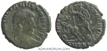 Ancient Coins - JULIAN II, The Apostate. (AD 355-363) AE3, 2.28g.  Thessalonica. Very scarce