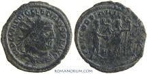 Ancient Coins - DIOCLETIAN. (AD 284-305) Follis, 2.63g.  Concordia Militvm.